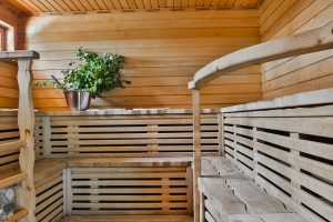 Kartanon saunatilat