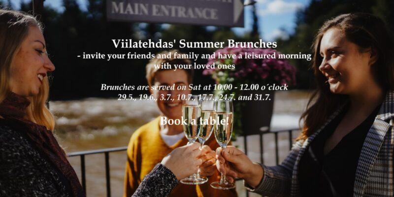 Viilatehdas' Summer Brunches