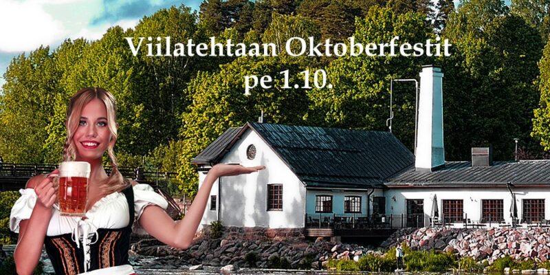Viilatehtaan Oktoberfestit 1.10.
