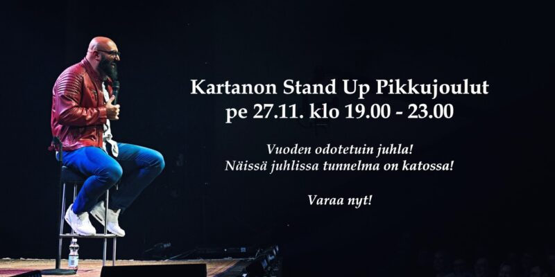 Kartano's Stand Up Pre-Christmas Party 27.11.