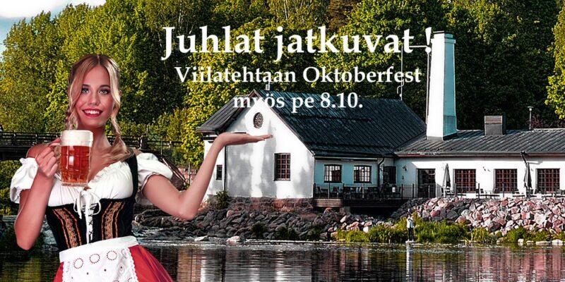 Viilatehtaan Oktoberfestit 8.10.