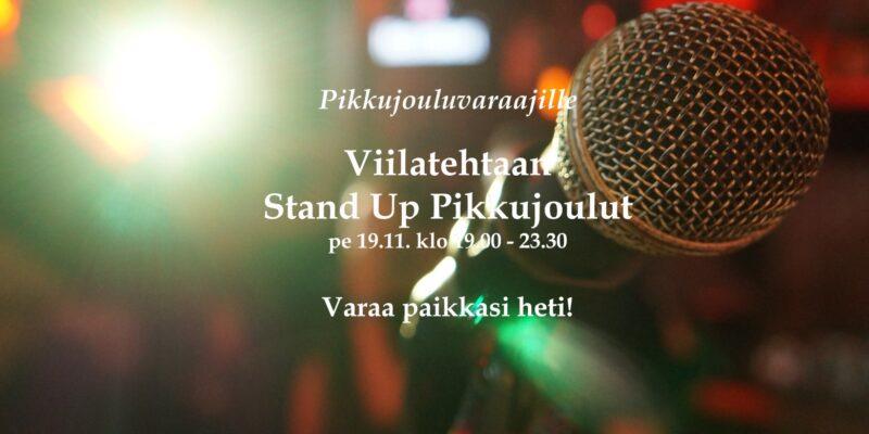 Viilatehtaan Stand Up Pikkujoulut 19.11.